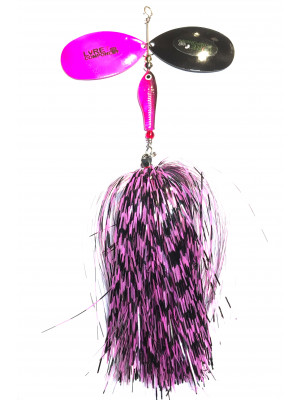 Flashabou bucktail barb/pink