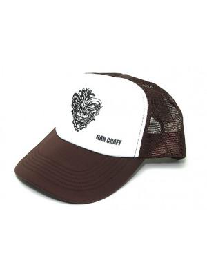 Original Mesh Cap - Brown/White