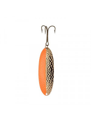 """3.5"""" Algonquin Wobbler - Hammered Copper Orange"""