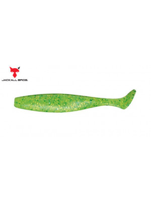"DAGGER MINNOW 3.5"" - CHARTREUSE LIME - CHART FLAKE"