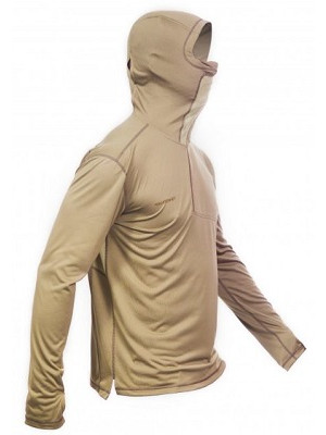 Fahrenheit - Bluza Solar Guard Hoody Kaki - L
