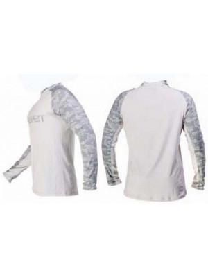 Fahrenheit - Bluza Solar Guard Sota Alb / Gri - L