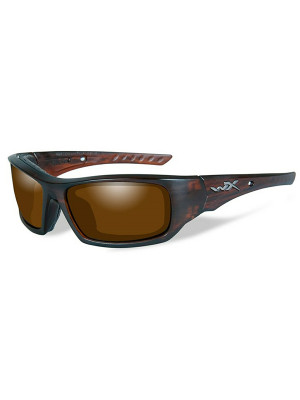 ARROW Polarized Amber Matte Layered Tortoise Frame
