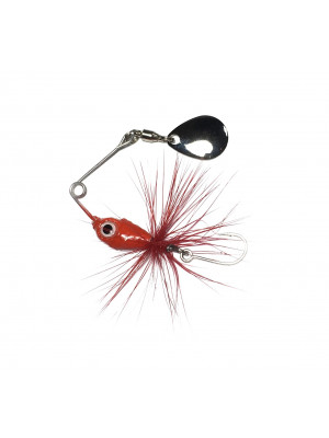 Micro spinnerbait LC - rosu