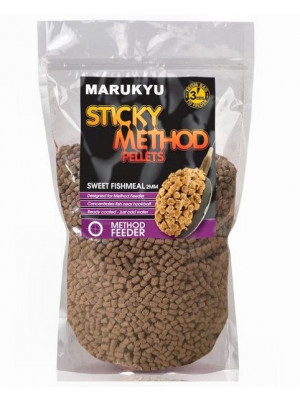 Sticky Method Pellets Sweet Fishmeal 800g, 2mm