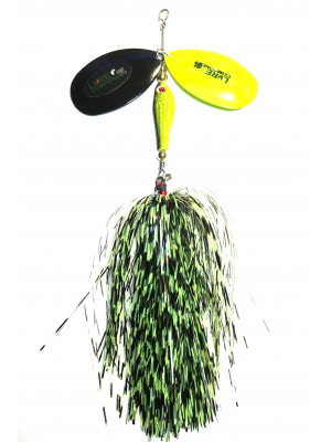 Flashabou bucktail barb/chart