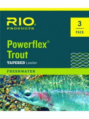 Fluoroflex Tapered Leaders 5X