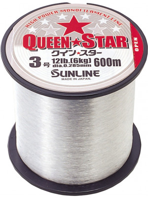 QUEENSTAR 600m - 0.370mm - Clear