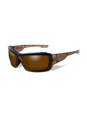 KNIFE Polarized Bronze Brown Crystal Frame